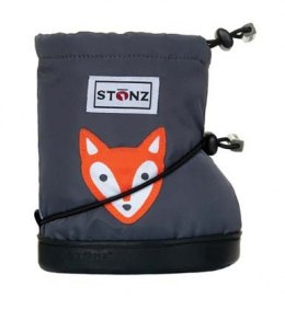 Stonz Booties Toddler Fox Grey