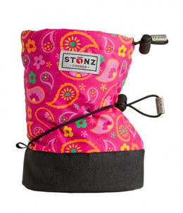 Stonz Booties Infant Paisley Pink