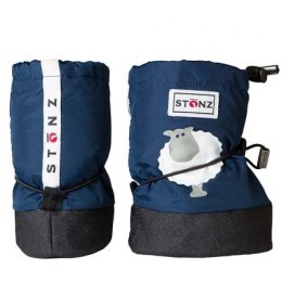 Stonz Booties Infant Sheep Navy Blue