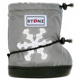 Stonz Booties Toddler Snowflake Grey