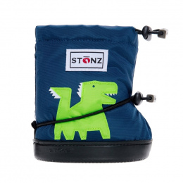 Stonz Booties Toddler Dragon Navy
