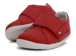 Bobux StepUp Boston Trainer Rio Red