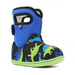 Baby Bogs Dino Electric Blue Multi