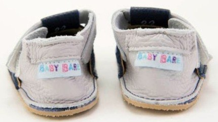 Buty skórzane Baby Bare Shoes Gravel