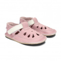 Buty skórzane Baby Bare Shoes Candy perforowane
