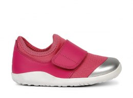 Bobux iWalk KID+ Dimension II Fuchsia + Silver