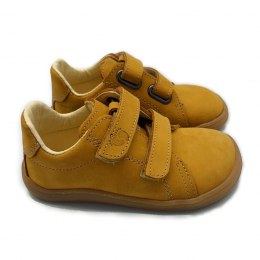 Wiosenne Sneakersy Febo Spring Mustard nubuk - Baby Bare