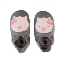 Bobux Soft Sole Woof Gull Grey