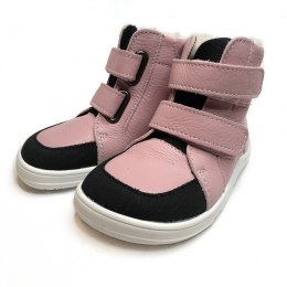 Febo Winter Gray/Pink Baby Bare Shoes