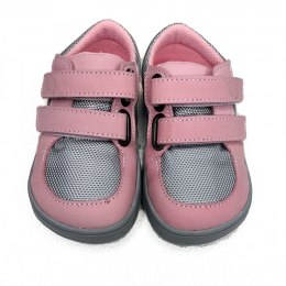 Sneakersy Febo Gray Pink - Baby Bare